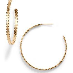 Gorjana new hoop earrings